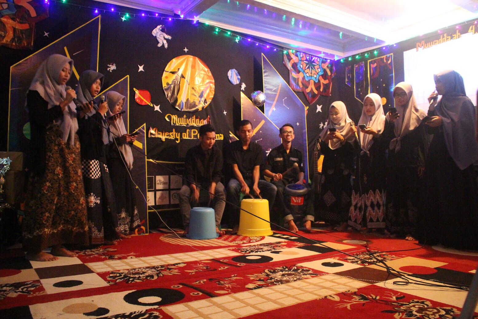 Foto salah satu penampilan di puncak acara Muwadda'ah