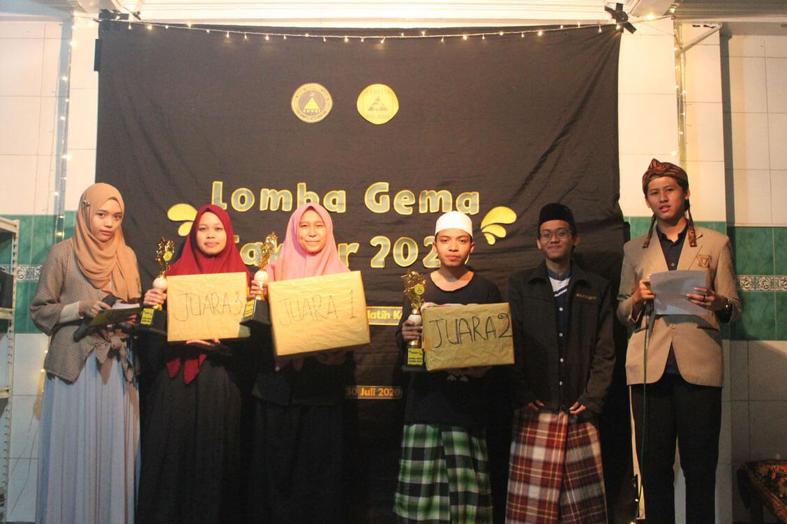 Para juara Lomba Gema Takbir 2020