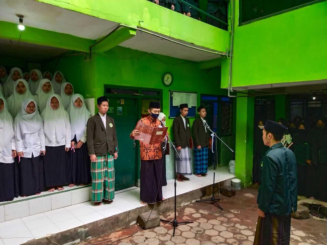 Pelaksanaan Upacara sebagai Peringatan Kemerdekaan Indonesia 17 Agustus 2020