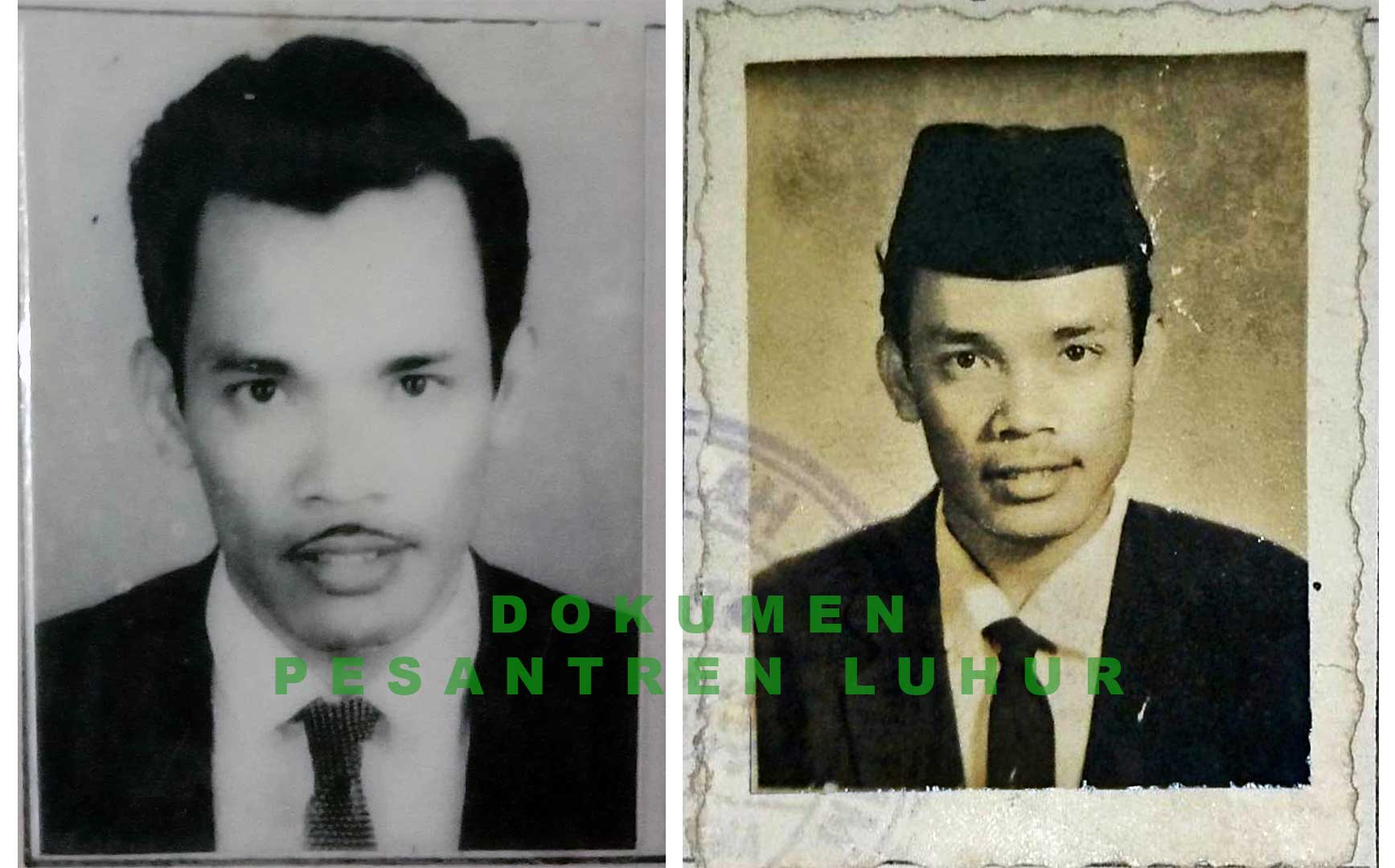 Foto abah di masa Bunga Tanjung baru terbentuk